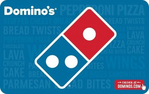 Buy Dominos Gift Card