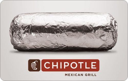 chipotle gift cards