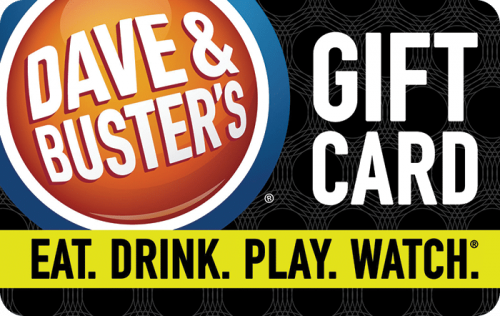 buy dave and buster's gift cards